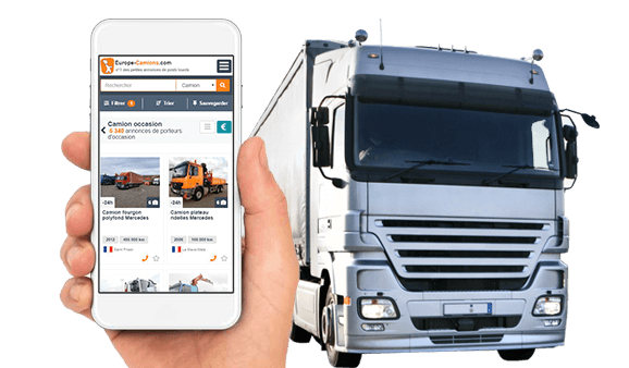 Post your ad on the 1st truck website in Europe!