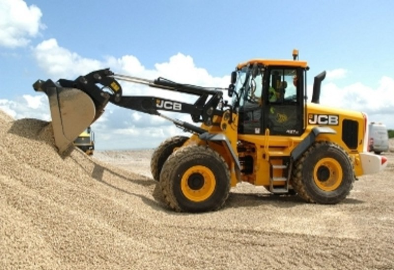 Wheel loader JCB 417 HT