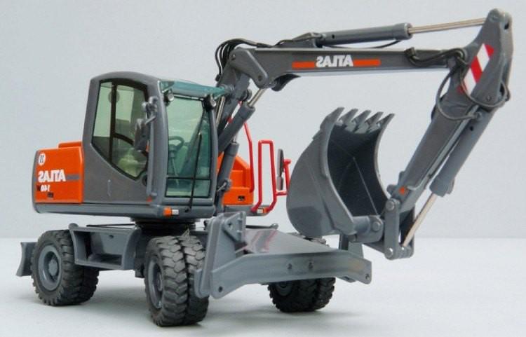 Excavadora de ruedas Atlas 1704 MI