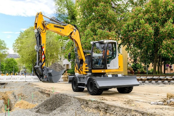 Mobilbagger Liebherr A 914 Litronic