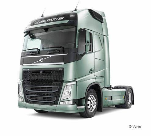 Tractor unit Volvo FH D 13 42 LA bas suspension intégrale pneumatique
